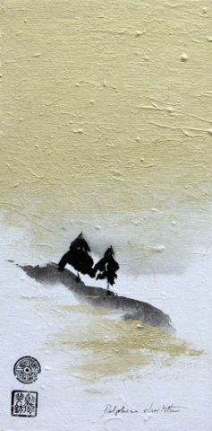 Peinture d'arbres