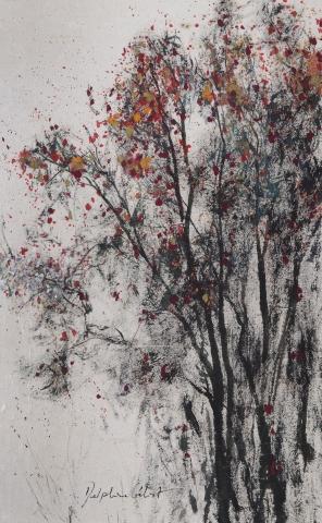 Encre et pigments arbres
