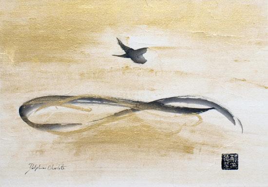 Peinture oiseaux