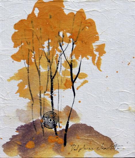Peinture arbres