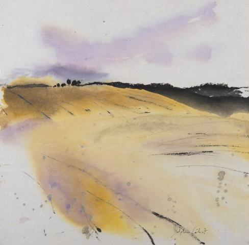 Encre et pigments paysages