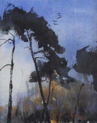 Encre et pigments Forêt